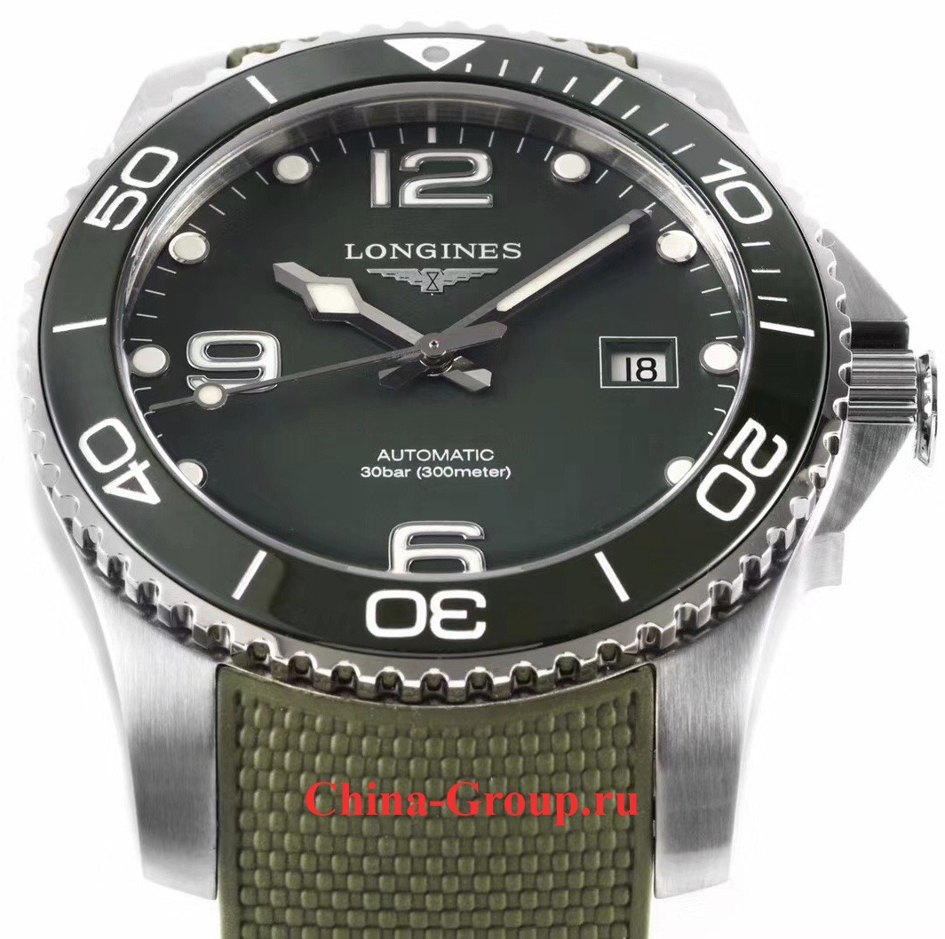 фото зелёные Green Longines HydroConquest photo
