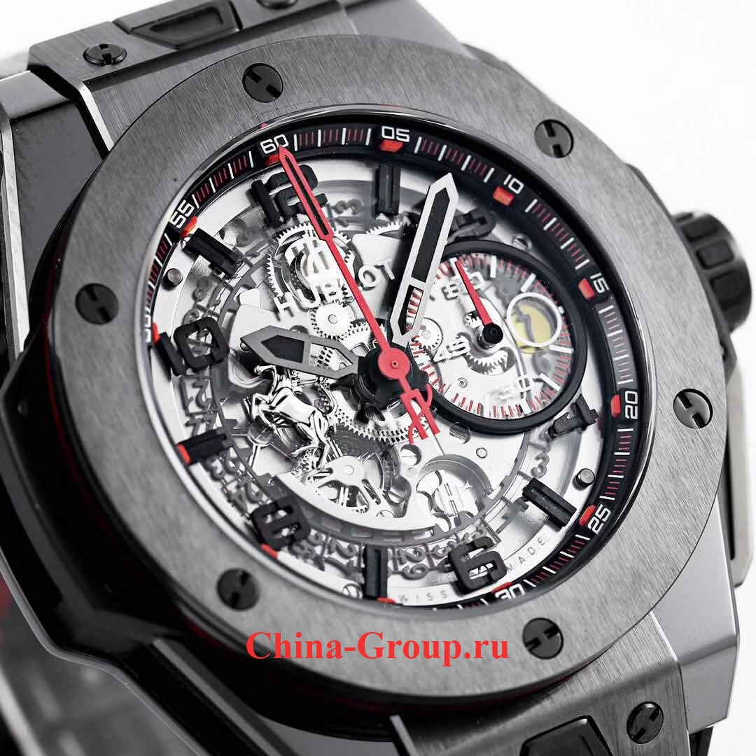 фото Копия Hublot Big Bang UNICO Ferrari All Black Limited Edition photo