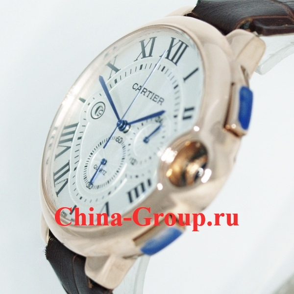 фото Аналог Часы Cartier Ballon Bleu De Cartier Chronograph Gold photo