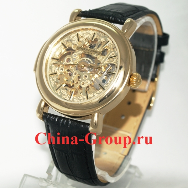Часы Vacheron Constantin Skeleton Gold 00027