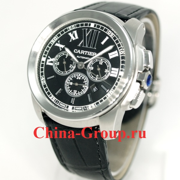 Часы Calibre de Cartier Chronograph 40908