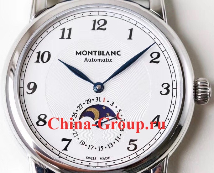 Часы Montblanc Star Legacy Moon Phase Data 117575