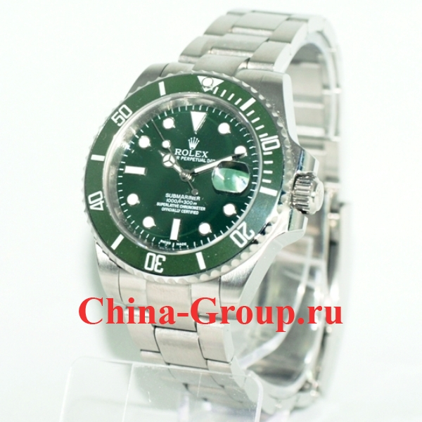 Часы Rolex Submariner Steel Green 60330