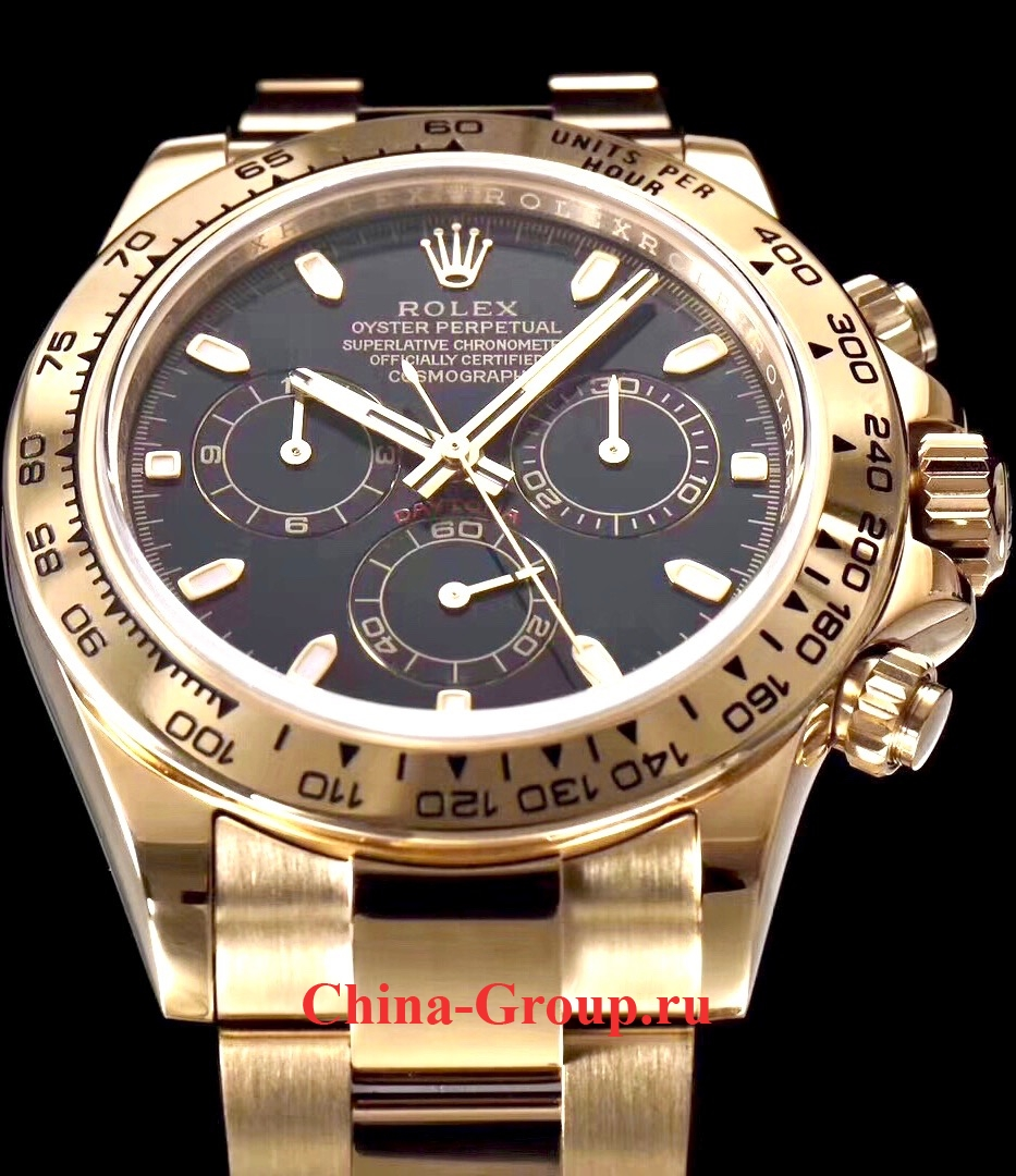 Часы Rolex Cosmograph Daytona All Gold 00014