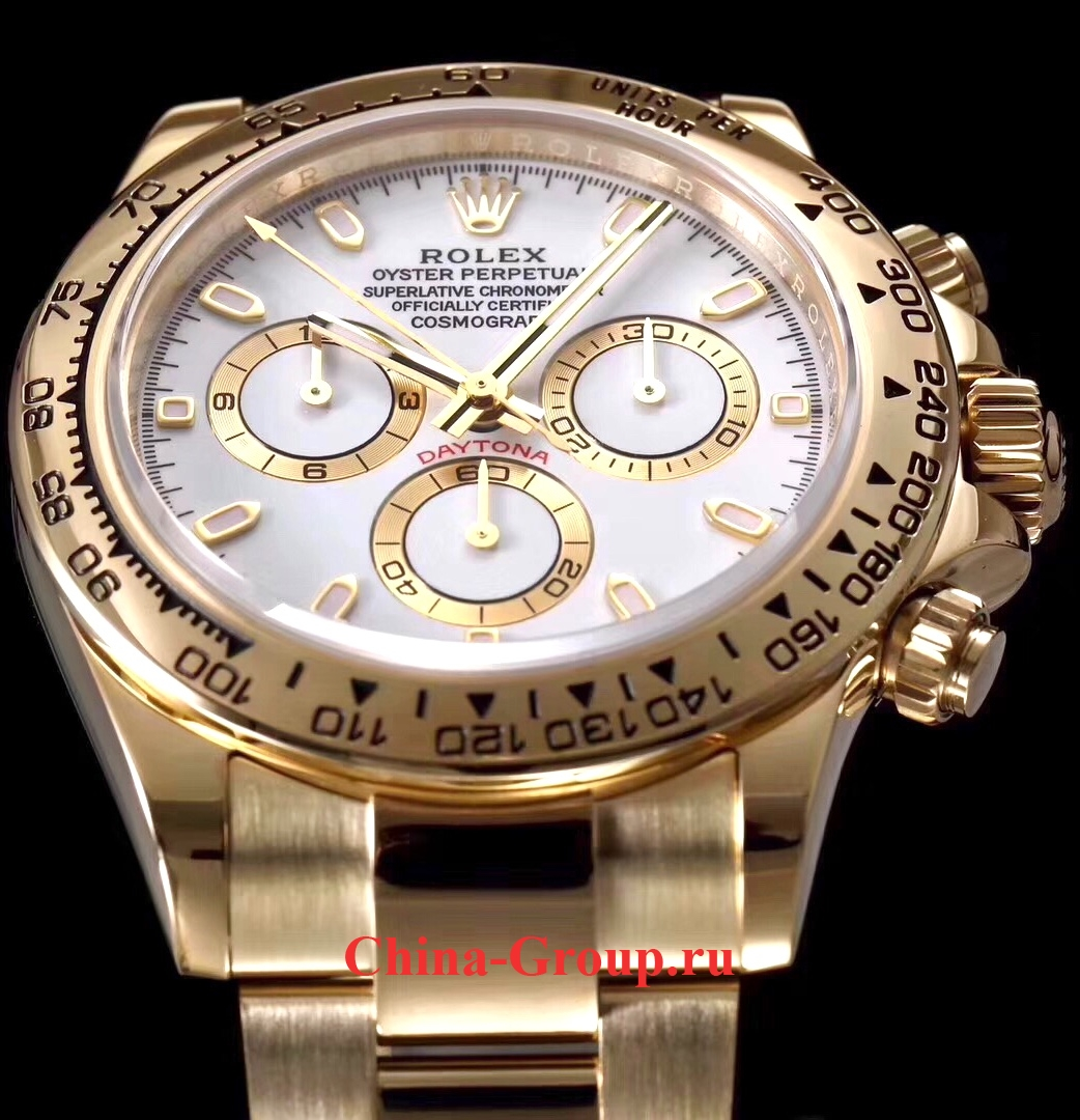Часы Rolex Cosmograph Daytona All Gold 00015