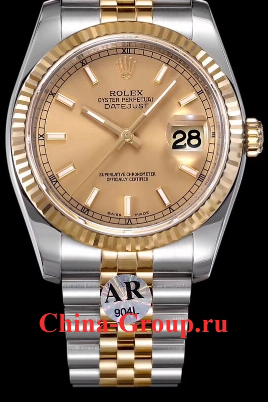 Часы Rolex Oyster Perpetual Datejust Steel Gold 00077