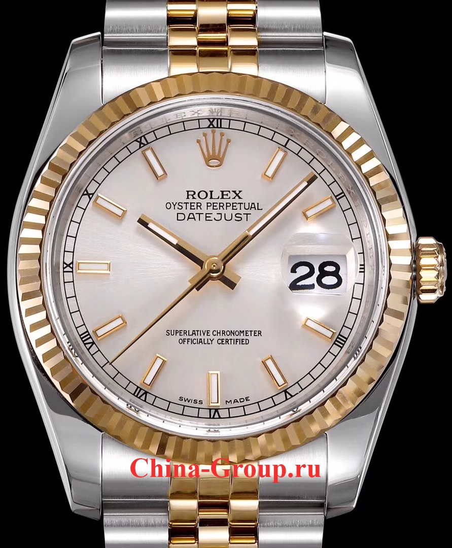 Часы Rolex Oyster Perpetual Datejust Steel Gold 00081