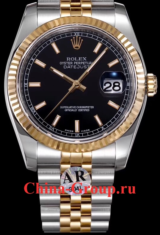Часы Rolex Oyster Perpetual Datejust Steel Gold 00082