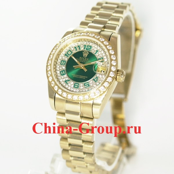Часы Rolex Datejust Green 70233