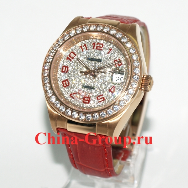 Часы Rolex Datejust Red 02551