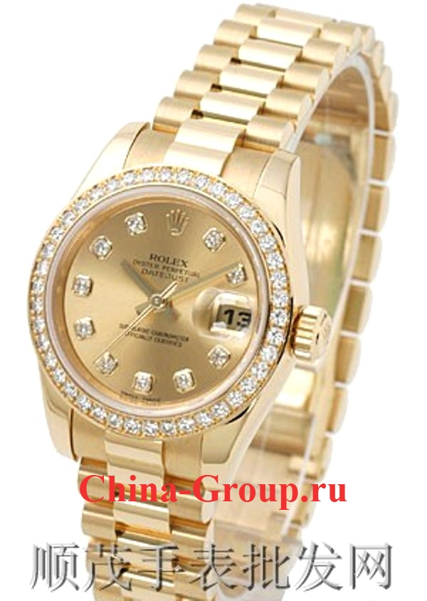 Часы Rolex Oyster Perpetual Datejust Gold 00005