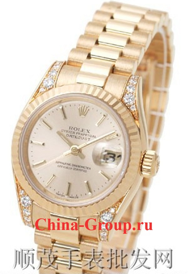 Часы Rolex Oyster Perpetual Datejust Gold 00094
