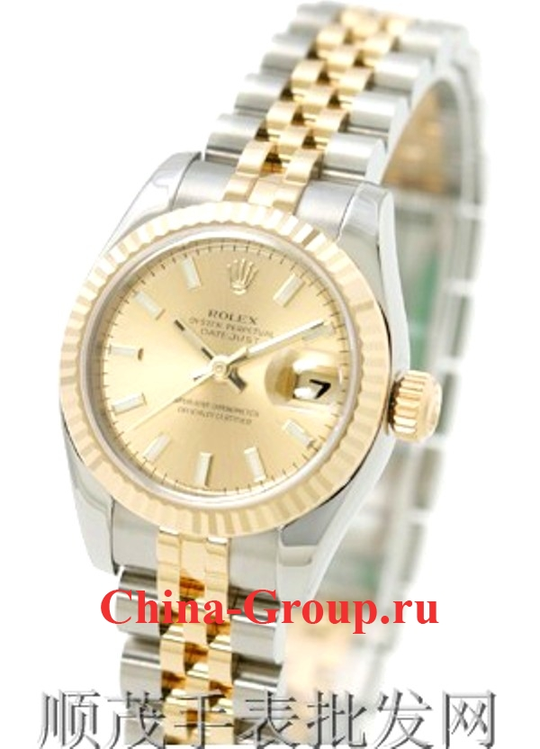 Часы Rolex Oyster Perpetual Datejust Steel & Gold 00086