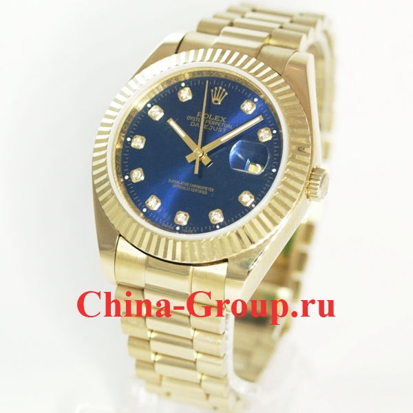 Часы Rolex Datejust Blue Gold 70182