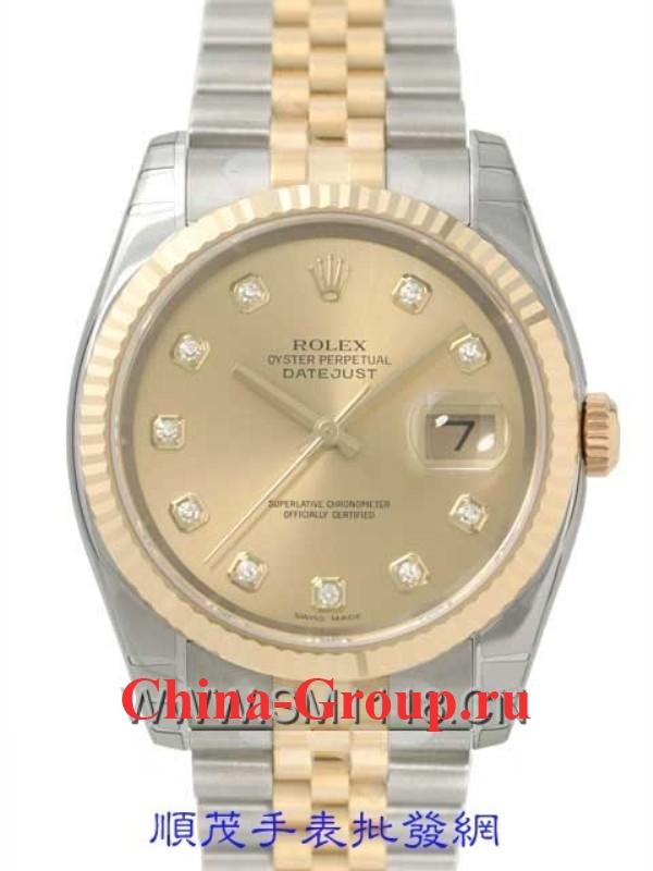 Часы Rolex Oyster Perpetual Datejust Steel Gold 00079